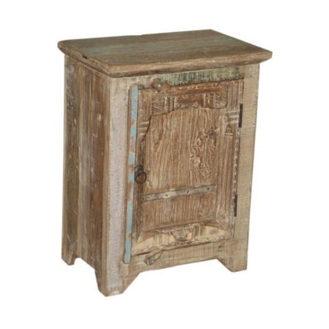 Wooden Side Table - Furniture - George & Augie