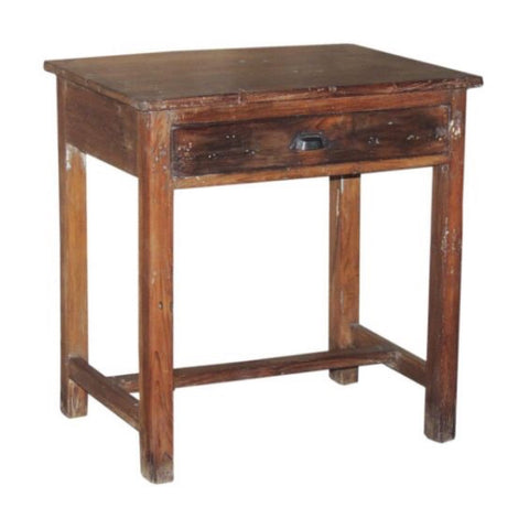 Wooden 1 Drawer Table - Furniture - George & Augie