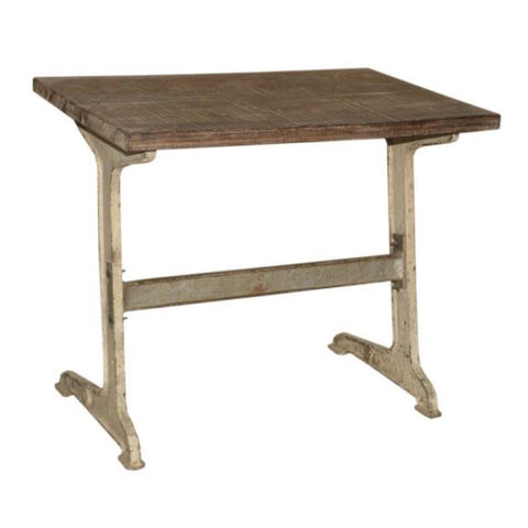 Wooden Iron Table - Furniture - George & Augie