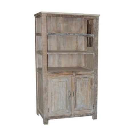 Reclaimed Cabinet with Open Shelving - Furniture - George & Augie