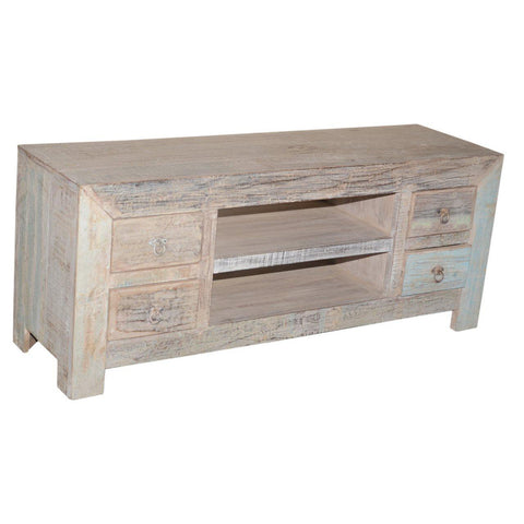 4 Drawer Media Console - Furniture - George & Augie