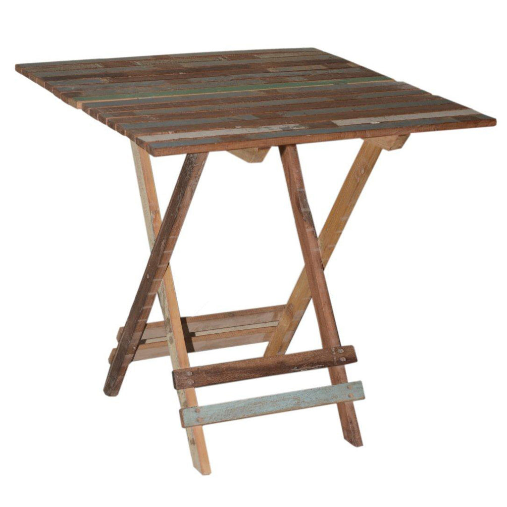 Wood Folding Table - Furniture - George & Augie
