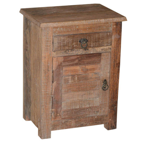 Wood Side Table - Furniture - George & Augie