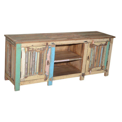 2 Door Media Console - Furniture - George & Augie