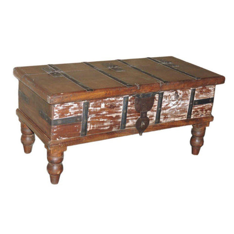 Petite Wood Trunk - Furniture - George & Augie