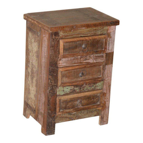 3 Drawer Side Table - Furniture - George & Augie