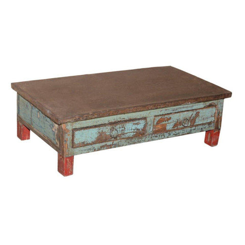 Small 2 Drawer Display Table - Furniture - George & Augie
