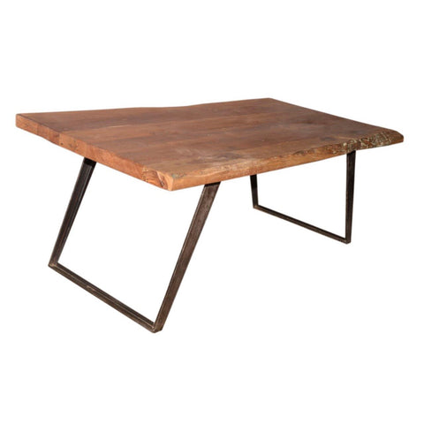 Reclaimed & Iron Dining Table - Furniture - George & Augie