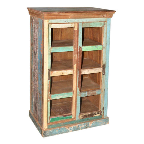 Reclaimed Wood Sliding Door Cabinet - Furniture - George & Augie