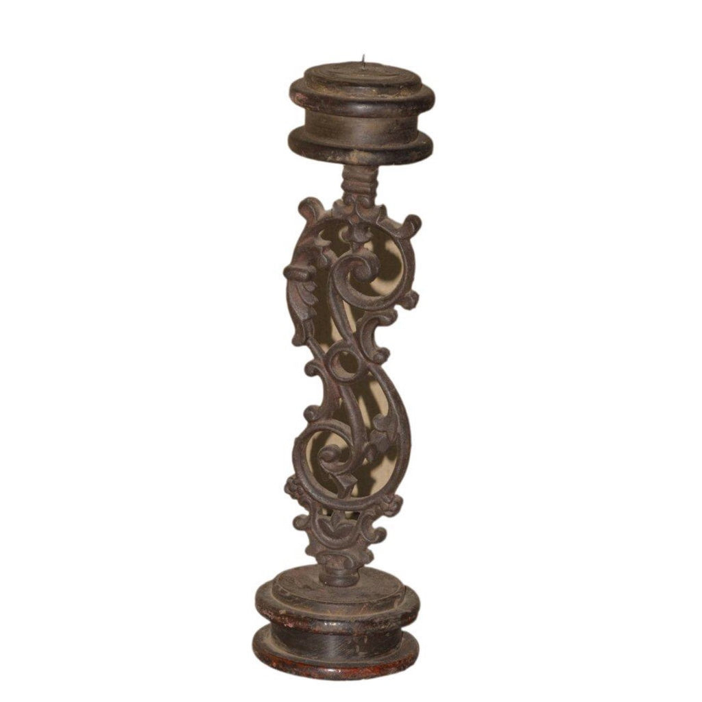 Iron Candle Stand - Decor - George & Augie