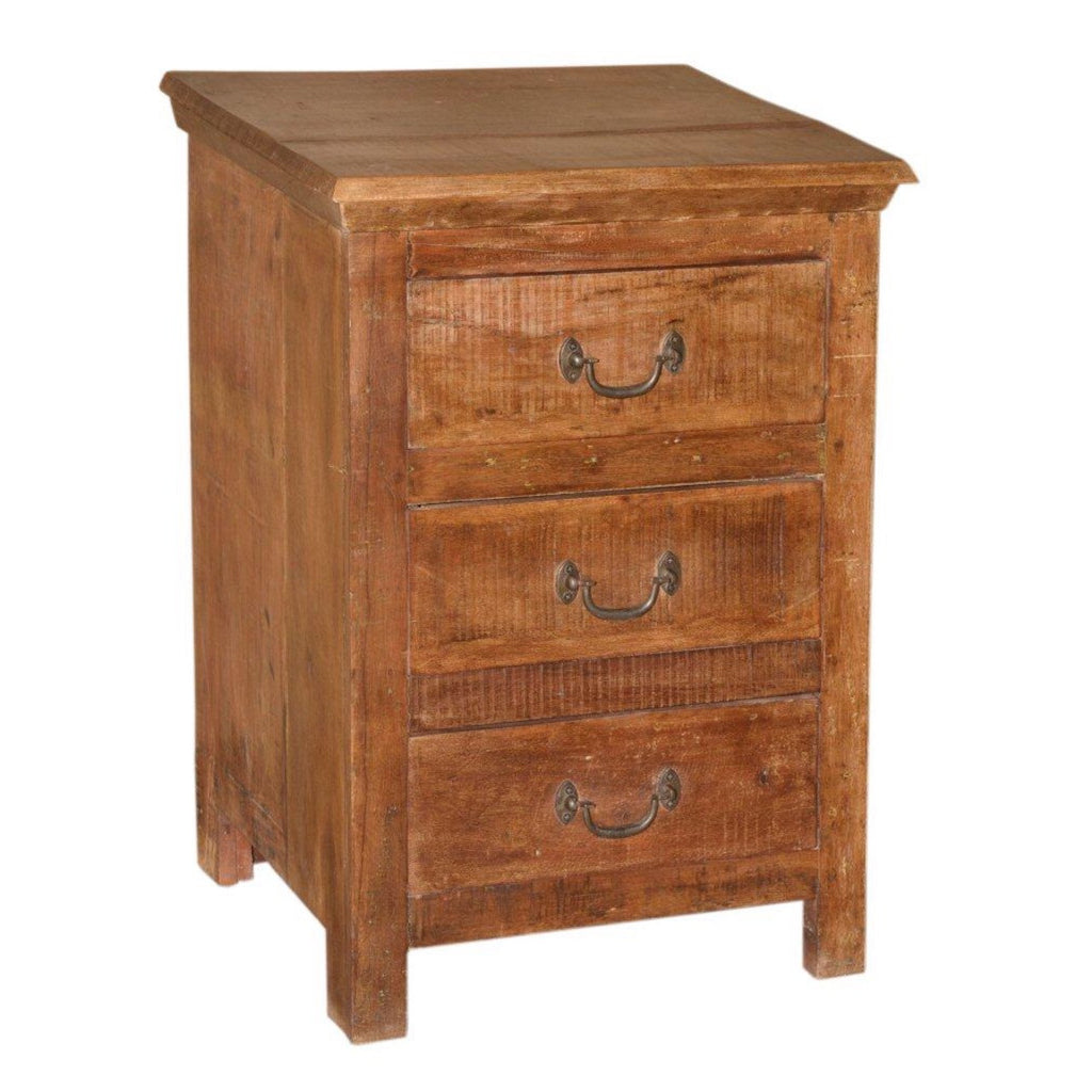 Reclaimed Bedside Cabinet - Furniture - George & Augie
