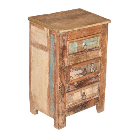 Reclaimed Wood Side Cabinet - Furniture - George & Augie