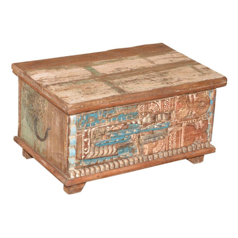 Reclaimed, Carved Box - Furniture - George & Augie