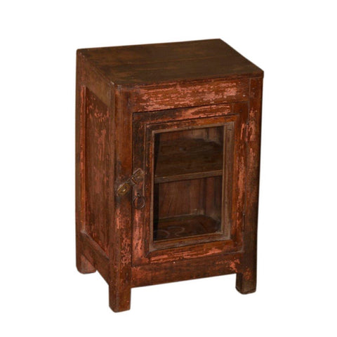 Antique Wood Display Cabinet - Furniture - George & Augie