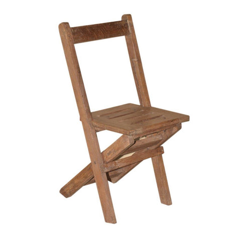 Antique Wood Chair - Furniture - George & Augie