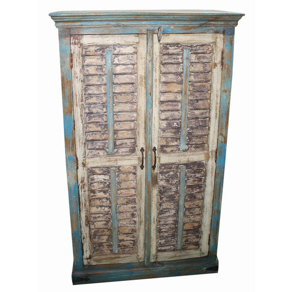 Shutter Door Cabinet - Furniture - George & Augie