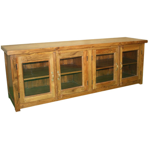 Teak Wood Storage Console - Furniture - George & Augie