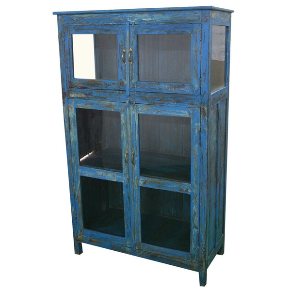 Antique 4 Door Cupboard - Furniture - George & Augie