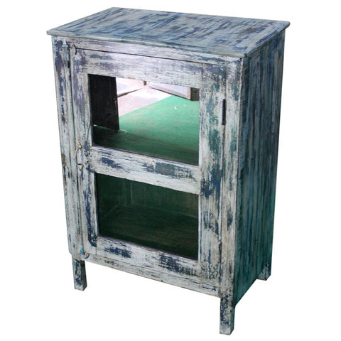 Antique Side Table Cabinet - Furniture - George & Augie