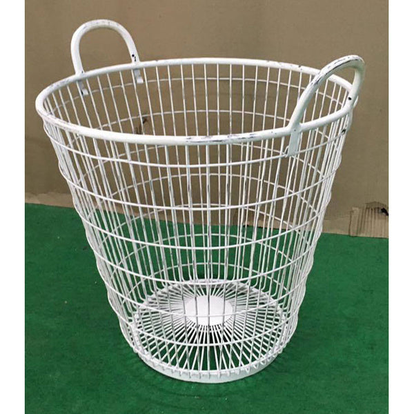 Iron Basket Large - Decor - George & Augie