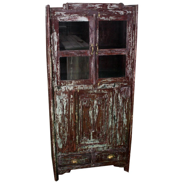 Antique Cabinet with Drawers - Furniture - George & Augie