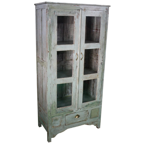 Antique Cabinet with Drawer - Furniture - George & Augie