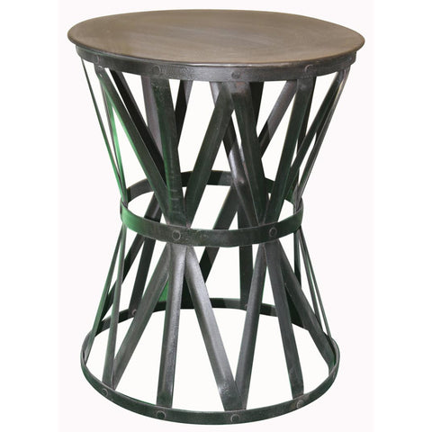 Iron Side Table - Furniture - George & Augie
