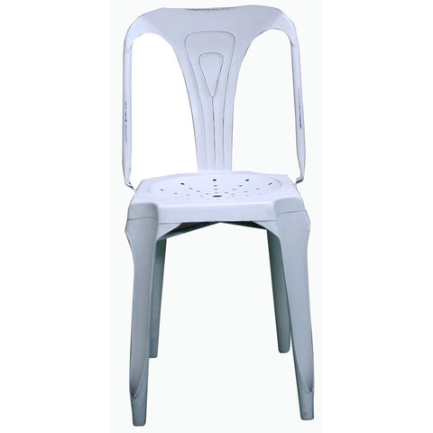 Round Seat Metal Chair - Furniture - George & Augie