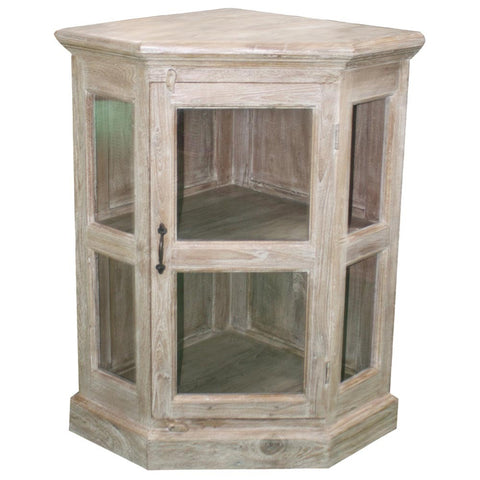Wooden Corner Cabinet - Furniture - George & Augie
