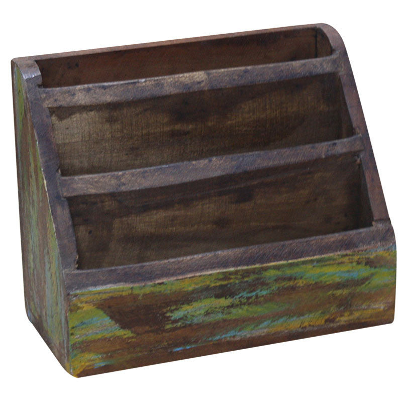 Wooden Wide Letter Box - Decor - George & Augie