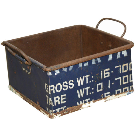 Recycled Metal Small Tray - Decor - George & Augie