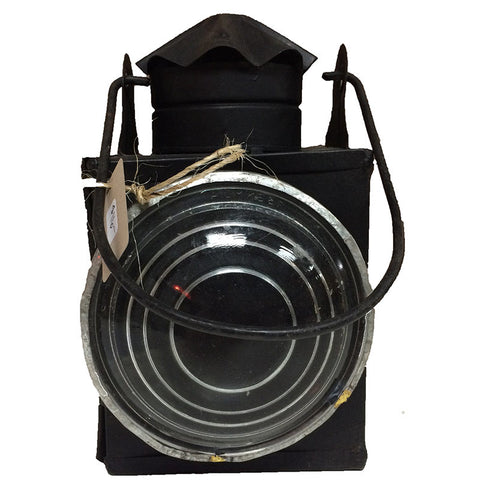 Railroad Style Lantern Candle Holder - Decor - George & Augie