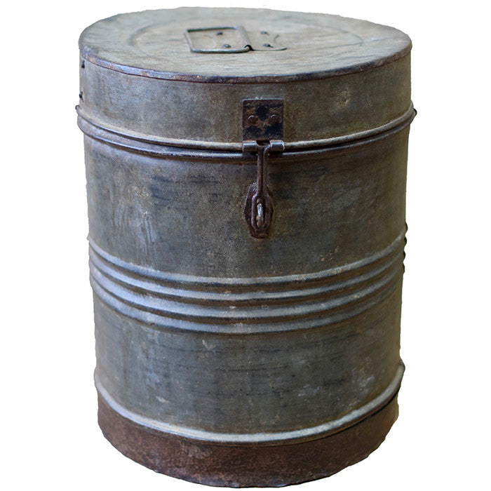 Antique Round Containers - Decor - George & Augie