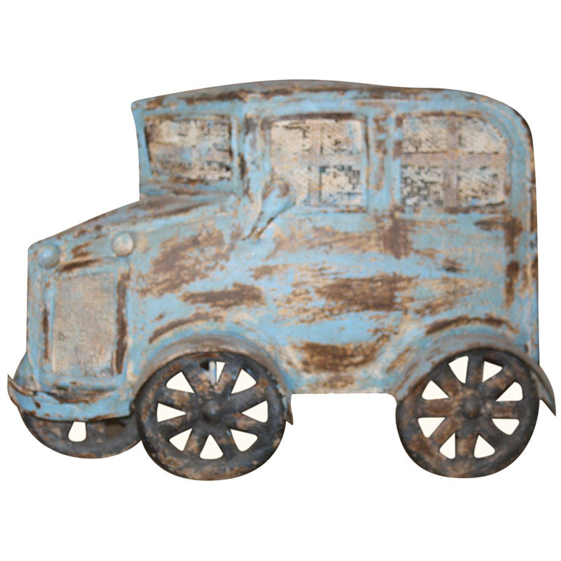 Wall Hanging Flattened Car - Decor - George & Augie