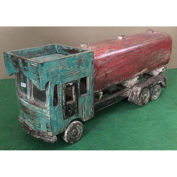 Wooden Oil Tanker Truck - Decor - George & Augie