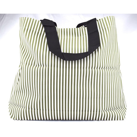 Wide Tote W/ Hook & Loop Closure - Accessories - George & Augie