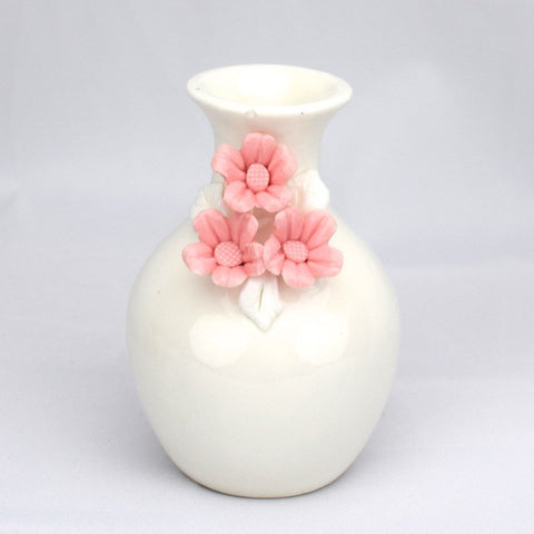 Flower Detail Vases - Pink - Decor - George & Augie