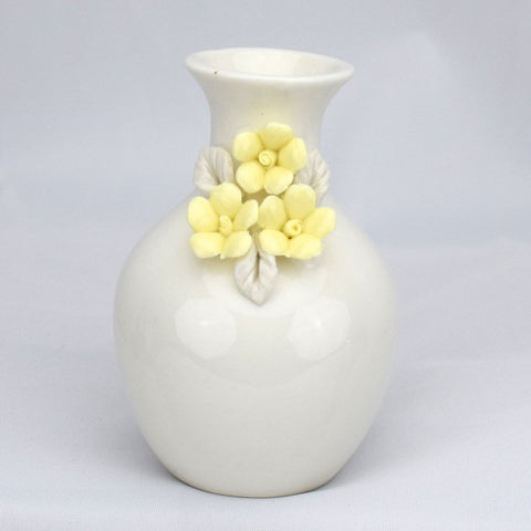 Flower Detail Vases - Yellow - Decor - George & Augie