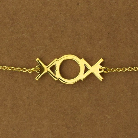 Xox Hugs And Kisses Bracelet - Gold - Accessories - George & Augie
