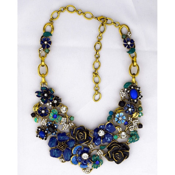 Flowers Necklace - Accessories - George & Augie