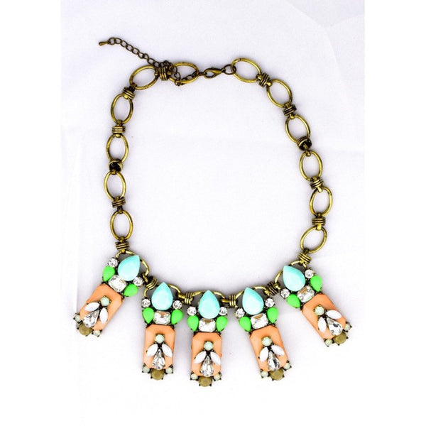 Jeweled Bee Necklace - Accessories - George & Augie