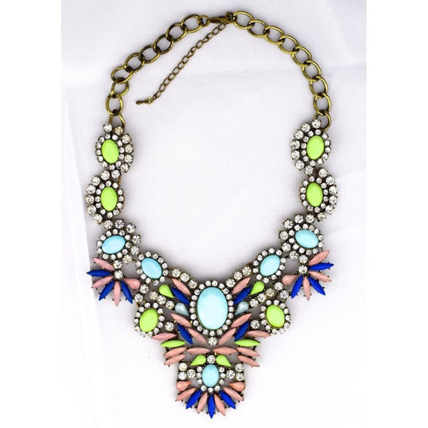 Neon Jewel Necklace - Accessories - George & Augie