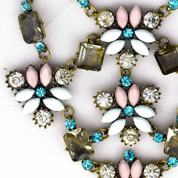 Elegant Flower Necklace - Accessories - George & Augie