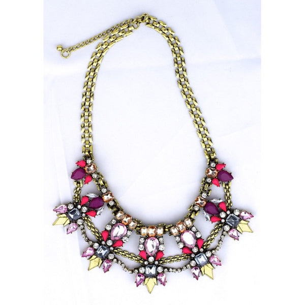Connected Jewel Necklace - Accessories - George & Augie