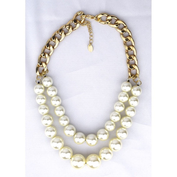 Pearl Rows Necklace - Accessories - George & Augie