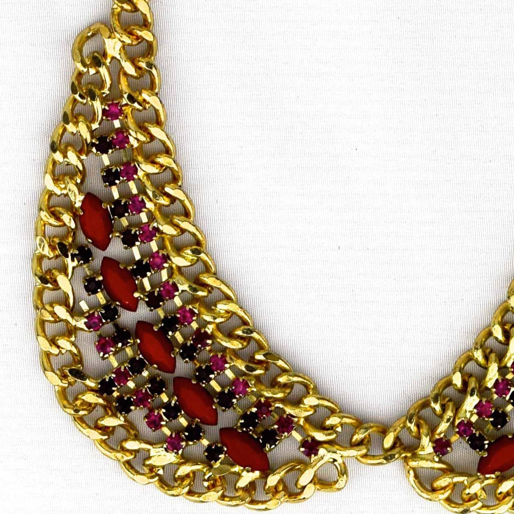 Peter Pan Jewel Collar Necklace - Accessories - George & Augie