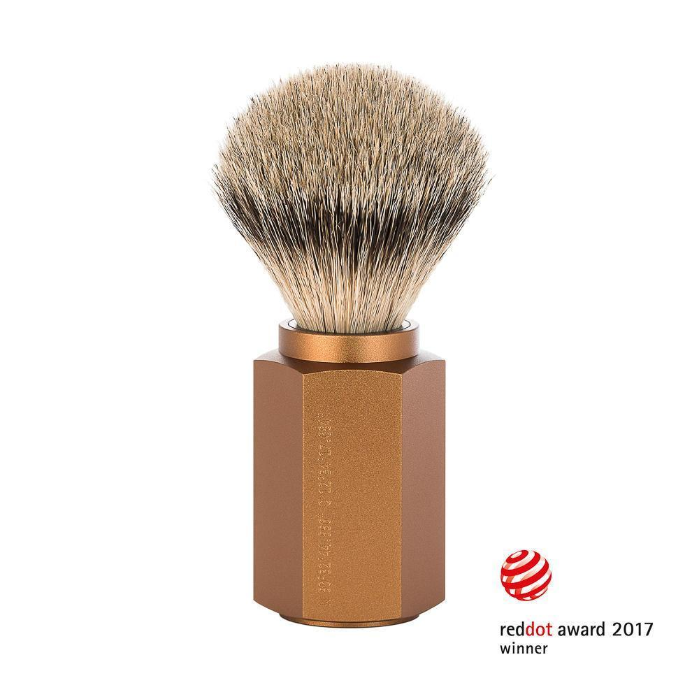 Muhle Bronze Silvertip Badger Shaving Brush