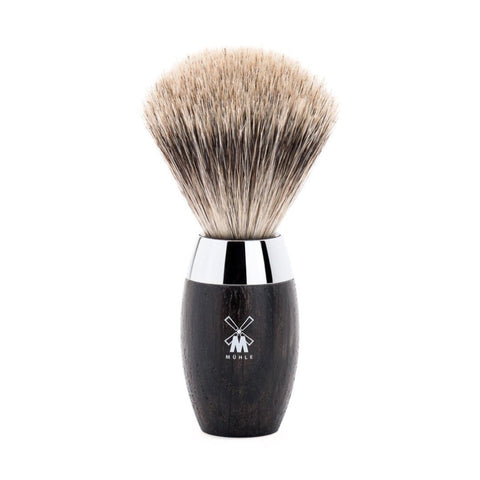 Muhle Kosmo Bog Oak Pure Badger Shaving Brush