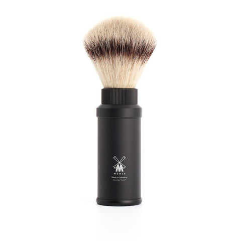 Muhle Synthetic Travel Shaving Brush - Black 31M536