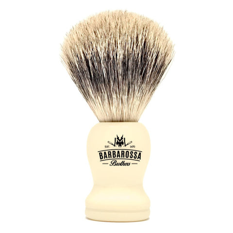 Barbarossa Brothers Pure Badger Shaving Brush Cream